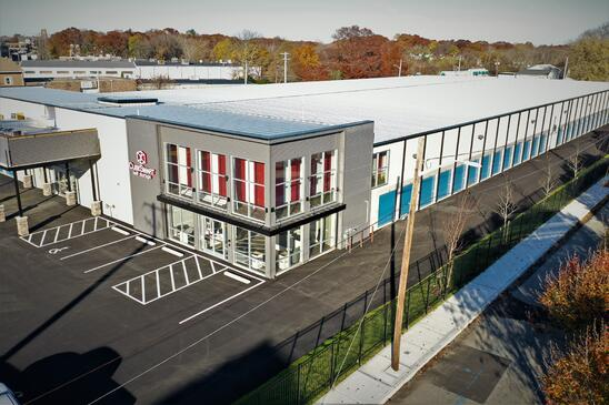 Cube Smart Multi-Story Facility in Rhode Island