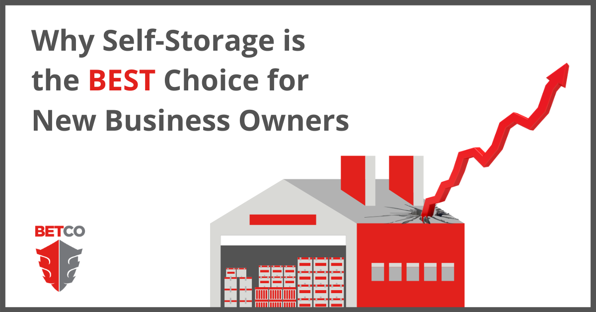 Why Self-Storage is the Best Choice for New Business Owners