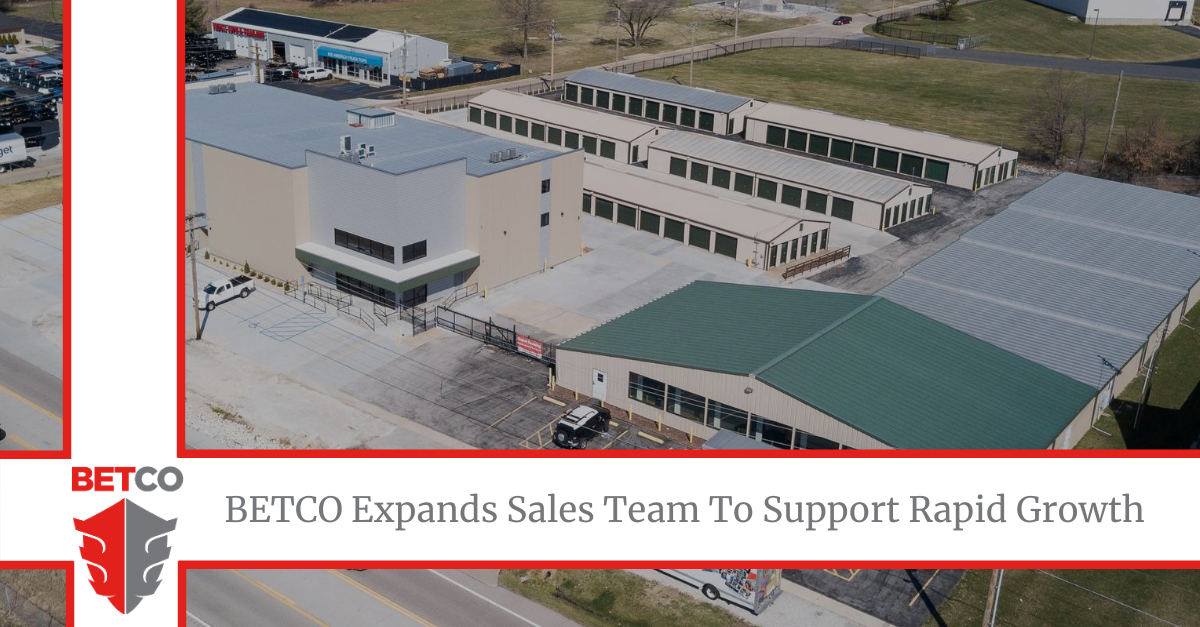 BETCO Announces Addition to their Growing Sales Team