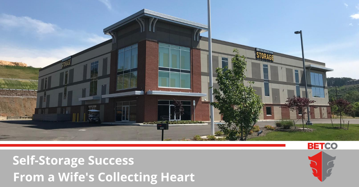 Self-Storage Success From a Wife's Collecting Heart